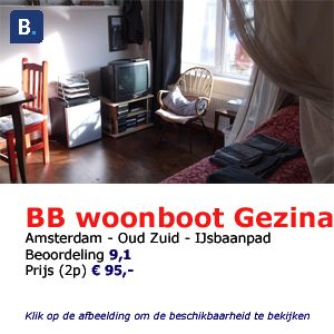 Gezina bed and breakfast Amsterdam